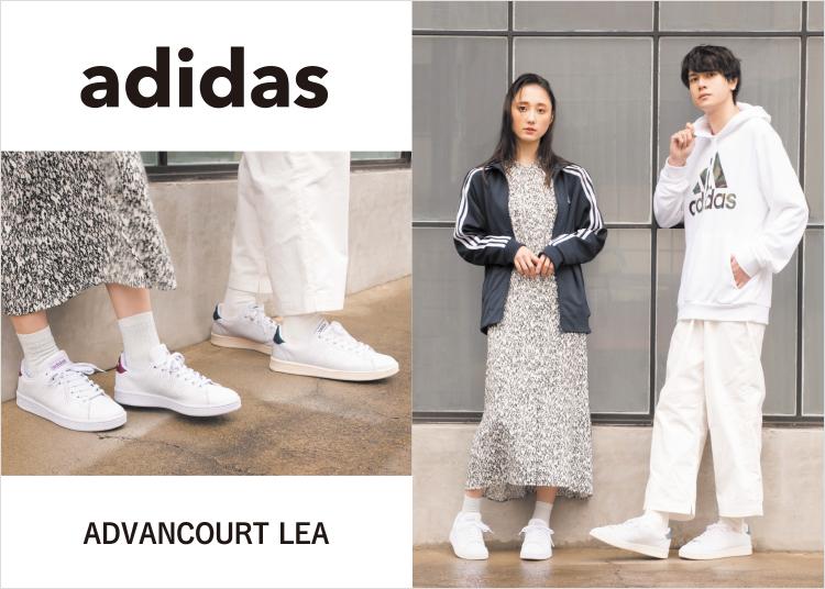 adidas ADVANCOURT LEA アディダスアドバンコートLEA