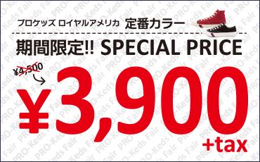 プロケッズ ロイヤルアメリカ 定番カラー 期間限定!! SPECIAL PRICE 4,500円→3,900円+tax