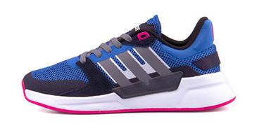 adidas RUN90S トゥルーブルー/グレー/ランニングホワイト