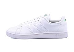 adidas ADVANCOURT ランニングホワイト/ランニングホワイト/グリーン