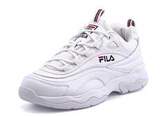 FILA フィラ FILARAY レディーススニーカー(フィラレイ) F5054 1160 ホワイト/ホワイト
