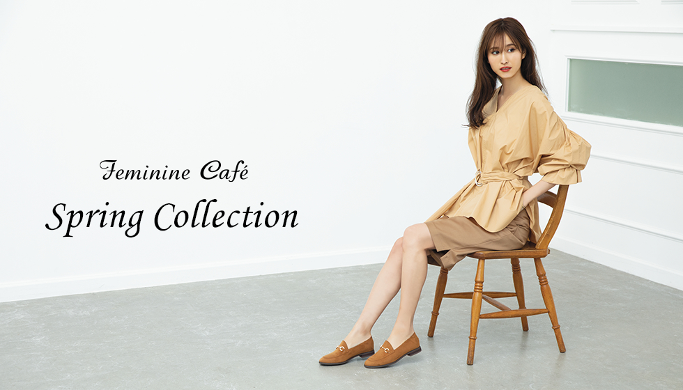 Feminine Cafe Spring Collection
